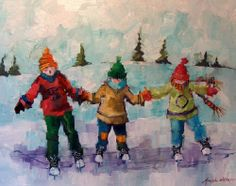 """""""Can't Skate for toffee"""" by Angela Morgan"""