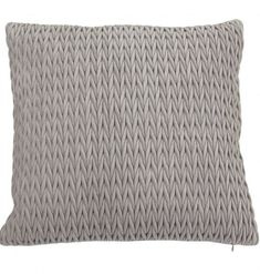 Fancy kuddfodral ljusgrå |  Interior for you by Sandra