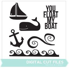 Summer Sailing Cut Files by Two Peas - Two Peas in a Bucket