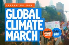 If governments can't or won't lead, people will. People must. All over the world, people are taking to the streets in more than 2000 marches in more than 100 countries. We're telling our governments to keep fossil fuels in the ground and finance a just transition to 100% renewable energy by 2050.