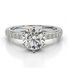 925-Sterling-Silver-2-65Ct-Round-Cut-Diamond-6-Prong-Solitaire-Engagement-Ring