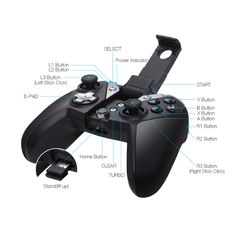 GAMESIR G4S 2.4GHz/Bluetooth 4.0 Wireless Gamepad for PC/Android