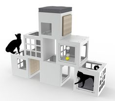 Here's one of the most exciting things I found last week at the SuperZoo Pet Product Expo in Las Vegas! It's Katt³ a brand new modular cat climbing system and cat house from Canadian company BeOneBreed. It stopped me in my tracks when I stumbled upon it in the new exhibitor area of the trade...Read More