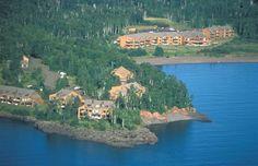 Aerial View of Superior Shores Resort