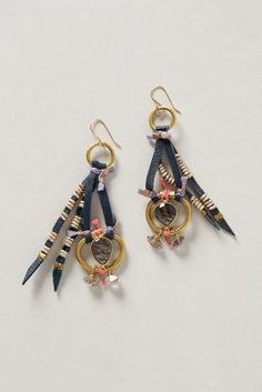 De Petra Geo Drop #Earrings #anthrofave #anthropologie #sale