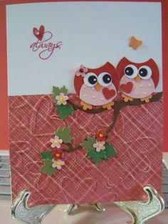 so cute, check out this website on how to make these cute owls