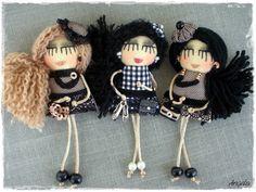 Pins and pendants - Angela's Expressions Crochet Hats, Pendants, Dolls, Handmade, Knitting Hats, Baby Dolls, Hand Made, Doll, Pendant