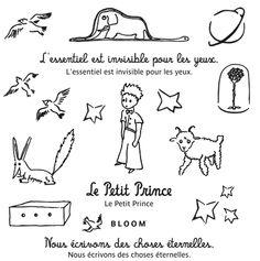 Le Petit Prince Tatouages éphémères bloom-tatouages.com