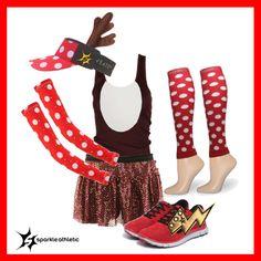 Reindeer Running Costume | Running | Race Costume | Sparkle Athletic | #TeamSparkle | Christmas | Athletic Costume