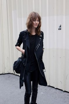 Freja blackout. awesome. Paris. #FrejaBehaErichsen #offduty