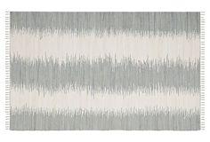 Uma Flat-Weave Rug, Gray on OneKingsLane.com