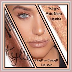 COMING SOONKylie Jenner's Metal Matte Lipstick NO TRADES Kylie Cosmetics Makeup Lipstick