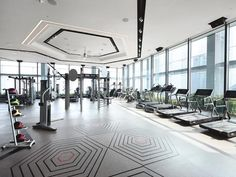High-end Gravity gym taps fitness tech for top-level execs. #gyms #fitness #fitnesstech