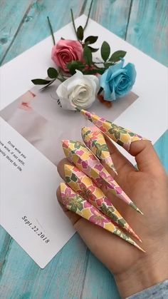 Mar 2020 - creative crafts let's do together!😘😘😍😍 Cool Paper Crafts, Paper Crafts Origami, Paper Crafting, Fun Crafts, Crafts For Kids, Arts And Crafts, Cardboard Crafts, Diy Crafts Hacks, Diy Crafts For Gifts