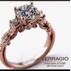Rose-gold wedding ring