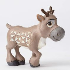 Release Date July 2016.  PRE-ORDER: Young Sven the reindeer figurine, from 'Frozen' (Jim Shore) from Fantasies Come True