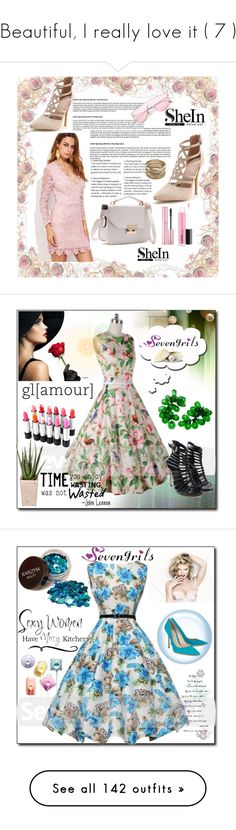 """Beautiful, I really love it ( 7 )"" by jaja8x8 ❤ liked on Polyvore featuring Sole Society, shein, PLANT, vintage, WALL, Gianvito Rossi, Disney, Élitis, NIKE and Giambattista Valli"