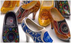Viktor & Rolf's Stiletto Klompen/wooden shoes, Zuiderzeemuseum Enkhuizen, Netherlands