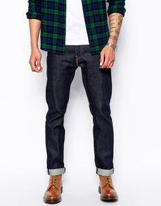 Image 1 ofLevis Jeans 511 Premium Goods Slim Fit Selvedge Eternal Day