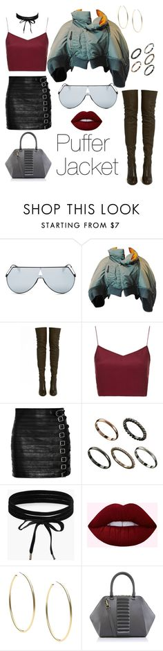 """""""Untitled #42"""" by alinadreamer ❤ liked on Polyvore featuring Fendi, ALEXA WAGNER, Boutique, Gucci, ASOS, Boohoo, Michael Kors and Kristina George"""