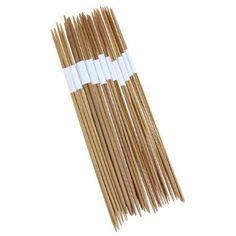 11 x 4pcs 25cm Double-Pointed Bamboo Knitting Needles Size Range: 2.0-5.0mm: Amazon.co.uk: Kitchen & Home