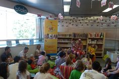 Baby Rhyme Time at the State Library of WA, Perth