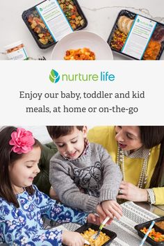 Nurture Life prepares fresh, wholesome, organic, ready-to-eat meals for babies, toddlers and kids and delivers them weekly, straight to your door. Let us do the planning, shopping, prepping and cooking�which means more time for you to spend on your to-do list, your family and yourself.