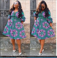 The complete pictures of latest ankara short gown styles of 2018 you've been searching for. These short ankara gown styles of 2018 are beautiful African Fashion Designers, African Fashion Ankara, Ghanaian Fashion, African Inspired Fashion, Latest African Fashion Dresses, Africa Fashion, Short African Dresses, Ankara Short Gown Styles, Short Gowns