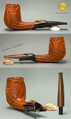 Another amazing creation from Greek pipe artisan Kostas Gourvelos.