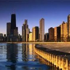Chicago Lakefront - our Avon route always takes us past here :)