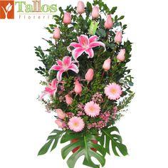 Floreria Lima - Primavera Rosa