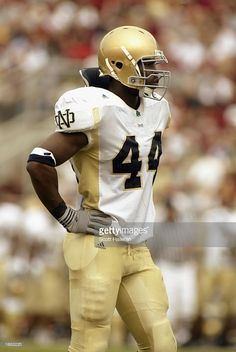 JUSTIN TUCK DEFENSIVE END NOTRE DAME ALUMNI PROS: N.Y. GIANTS AND OAKLAND RAIDERS