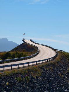 Storseisundet Bridge on Norway's Atlantic Ocean Road