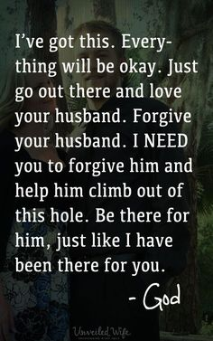 Trusting In God's Promise For Marriage --- Sometimes sin infiltrates our lives and our marriages. Sin wounds us and offers helplessness. Sin can weigh so heavily on our hearts that we literally feel like our spirits are crushed. Our heart feels broken. We
