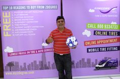 Congratulations once again to Jimmy Satwani for claiming his Zeetex football! Hope you enjoy your prize!   Lots more footballs waiting for their winners, stay tuned!
