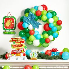 Grinch Christmas Tree, Ward Christmas Party, Christmas 2019, Christmas Diy, Online Party Supplies, Kids Party Supplies, Grinch Christmas Decorations, Grinch Party, Party Stores