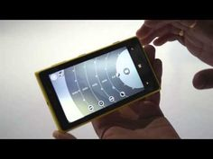 Nokia Lumia 1020 Pro Camera app video walkthrough