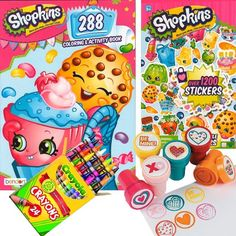 15 Best Shopkins Coloring Pages Stickers images | Coloring ...