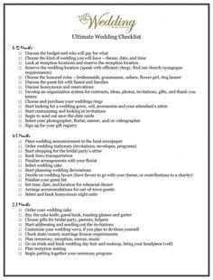 VIP's Ultimate Wedding Checklist | New Jersey Weddings, Wedding venues, banquet halls, photographers, dresses, flowers, cakes for the Bride-to-Be