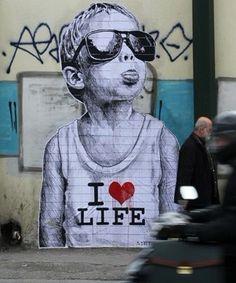 I love life,too.