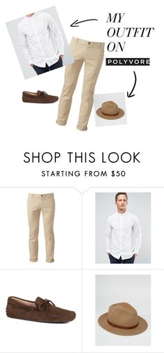 """""""Hem"""" by derindp on Polyvore featuring Chor, SELECTED, Tod's, Brixton, men's fashion and menswear"""