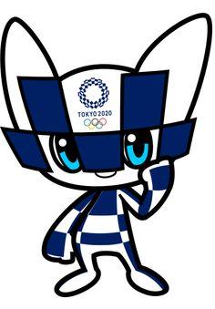 2020 Tokyo Summer Olympics Gets a Mascot Tokyo's 2020 Summer Olympic Games mascot. Whatcha think? Olympic Mascots, Olympic Games Sports, Olympic Gymnastics, Tumbling Gymnastics, Gymnastics Quotes, Gymnastics Leotards, Winter Olympics 2020, Tokyo Olympics, Maneki Neko