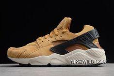 """official photos 9d022 873ae Nike Air Huarache Run Premium """"Wheat"""" Wheat Black-Light Bone-Ale Bro 704830- 700 Best"""