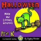 Halloween Pre K by Giggling Wombat | Teachers Pay Teachers