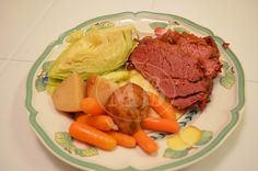 Moore babies: {Pinned there, Done That} Crockpot Corned Beef , P...