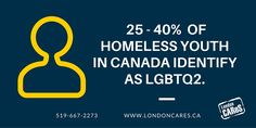 We need to do better for our LGBTQ2 homeless youth. #londonCAReS