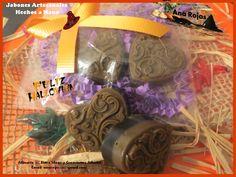 Jabones corazón de brujas. soaps heart of witches. Aromas Hechizo mágico. Pedido: anarojas335@gmail.com