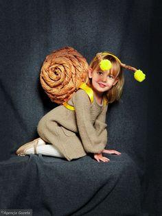 Stroje karnawałowe DIY: ślimak