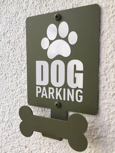 Dog Parking de PARKINGDOG en Etsy https://www.etsy.com/es/listing/563161295/dog-parking