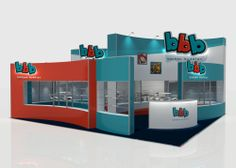Specialist exhibition stand design - custom shelving